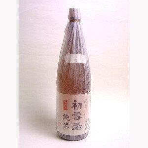 初雪盃 純米酒  1.8L