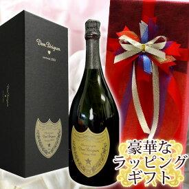 オーガンジー(赤)ラッピング ドンペリニヨン (ドンペリ) 2010 750ML  化粧箱入正規輸入品