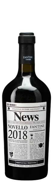イタリア新酒ワイン  ノヴェッロ・ファルネーゼ 【2018】【赤】【航空便】 10月30日 解禁】