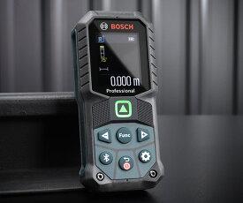 【新商品】 BOSCH グリーンレーザー距離計 測定範囲0.05〜50m 防塵防水構造IP65 Bluetooth測定結果転送可能 GLM5027CG ボッシュ