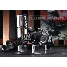 【期間限定セール】 GENTOS ジェントス HLP-1805 500lm 予備ヘッドバンド付属 プロ用 LEDヘッドライト 充電池・乾電池兼用モデル