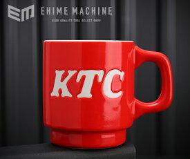 KTCグッズ YG-187AR KTCロゴ スタックマグカップNEW レッド