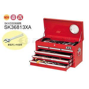 [メーカー直送業者便] KTC 工具セット 9.5sq. 68点ツールセット SK36813XA SKX3306 採用モデル