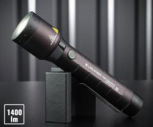 【新商品】 LEDLENSER P6R Signature LEDライト 1400lm 502189 レッドレンザー