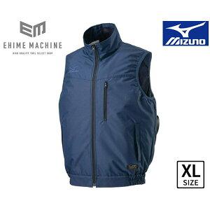 MIZUNO F2JE019014-XL エアリージャケットTOUGHベスト XLサイズ ドレスネイビー (ファン・バッテリー別売り) 空調服 作業着 作業服 ミズノ