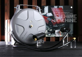 [新製品] 三協リール エアーホースリール 10m カプラ付 SHS-210BA ブラックホース採用モデル