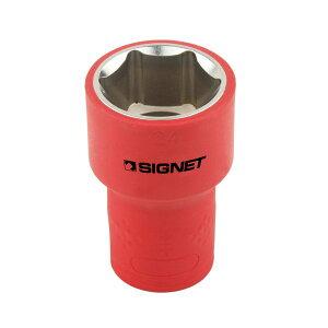 SIGNET E41424 1/2DR 絶縁ソケット 6角 24MM シグネット