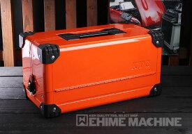 在庫有 KTC 両開きメタルケース ブライトオレンジ EK-10ABR 工具箱