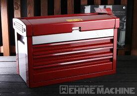 在庫有 KTC ツールチェスト EKR-103PR パールレッド×シルバー ツールケース 工具箱