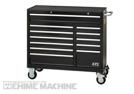 [メーカー直送品]KTC ローラーキャビネット (7段12引出し)SKX3812BK ブラック