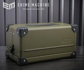【KTC】 EK-10AODEM 両開きメタルケース オリーブドラブ EHIME MACHINEオリジナルカラー 工具箱
