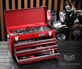 在庫有 KTC 工具セット 9.5sq./67点セットSK3660GXEM レッド SKX0213 採用モデル