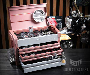 【KTC】 9.5sq. 68点工具セット SK36820ERG(豪華特典付)ローズゴールド×シルバー スタンダードツールセット EKR-103RG 採用モデル