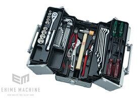 在庫少 KTC 12.7sq. 41点工具セット SK44120WM(特典付)メタリックシルバー 一般機械整備用ツールセット EK-1A 採用モデル