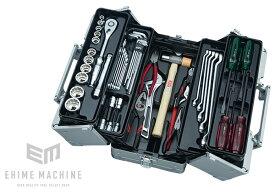 在庫少 KTC 12.7sq. 51点工具セット SK45120WM(特典付)メタリックシルバー 一般機械整備用ツールセット EK-1A 採用モデル