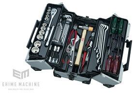 在庫少 KTC 12.7sq. 51点工具セット SK45120WMZ(特典付)メタリックシルバー 一般機械整備用ツールセット EK-10A 採用モデル