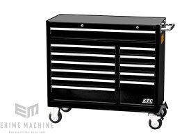 [メーカー直送業者便] KTC ローラーキャビネット (7段12引出し)SKX3812BK ブラック