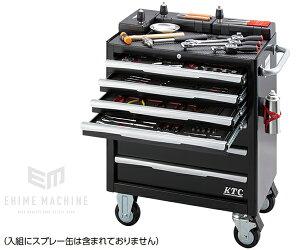 [受注生産品][メーカー直送業者便] KTC 145点工具セット SK94521EXBKQ ブラック トルクル 大型ローラーキャビネット 採用モデル SK SALE 2021 SKセール