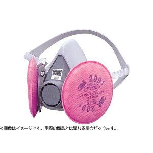3M スリーエム 取替式防じんマスク 6000/2091-RL3 Mサイズ
