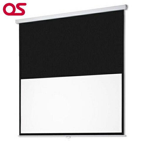 <激安>メーカー直販【スクリーン】OS オーエス80型手動スクリーン SMC-080HM-2-WG