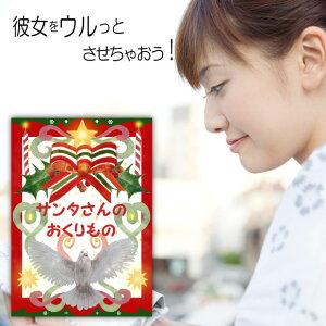 クリスマスプレゼント 妻 絵本 30代 20代 嫁 名入れ 名前入り サプライズ 世界に1冊 オリジナル絵本「サンタさんのおくりもの」