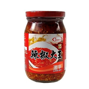 台湾産 辣椒大王 激辛口唐辛子ラー油漬け 430g