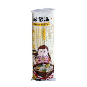 順留湯 中華細麺 タマゴ麺 卵麺 鶏蛋麺 400g