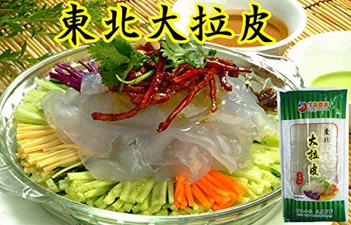 東北大拉皮 春雨 ダーラーピー 寛粉皮 板状 夏の冷たい料理に 中華料理・中華食材 200g