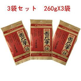 洽洽香瓜子 向日葵の種 260g×3袋