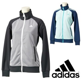 adidas (アディダス) レディース ウォームアップジャケット テニス ランニング フィットネス 花柄 吸汗速乾 透湿 紫外線カット 防菌防臭 ddy64