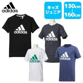 adidas (アディダス) 71 BOYS ESS ビックロゴ Tシャツ ジュニア キッズ 男の子 小学生 通学 マルチスポーツ ビッグロゴ カジュアル 綿100% mlb26