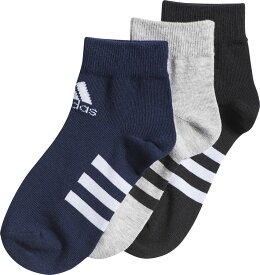 adidas(アディダス)KIDSANKLE3P3足組ソックスジュニア(adj-got21)