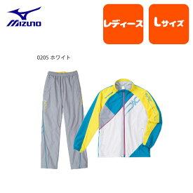 mizuno (ミズノ) ウィンドブレーカー レディース 上下セット テニス サッカー バトミントン バレーボール ランニング フィットネス 吸汗速乾 裏毛 ポリエステル100% 32je4731jf4731set (SSS)