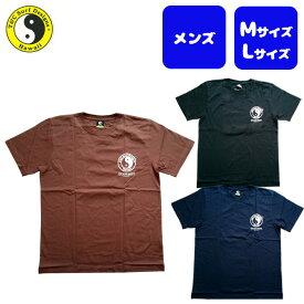T&C (タウン&カントリー) Tシャツ 半袖 メンズテニス ランニング フィットネス ビッグロゴ 夏 カジュアル dm1821