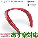 【あす楽対応/最新モデル】SHARP シャープ AQUOSサウンドパートナー AN-SS2-R (レッド)