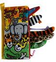 【ゆうメール送料無料!】布絵本 仕掛け絵本 Softbook Jungly Tails