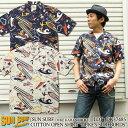0068d1e1 Sun surf デュークカハナモク SUNSURF DUKE KAHANAMOKU CLASSIC SURF STYLE Hawaiian  shirt Hawaii Ann shirt