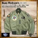 """バズリクソンズ タイプ L-2B Buzz Rickson's """"18th TAC RECON SQ"""" フライトジャケット [BR13889] バズリクソンズ[送料無料]フライトジ…"""