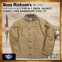 """バズリクソンズ タイプ N-1 Buzz Rickson's フライトジャケット [BR13902] """"USS RANDOLPH CVG-142"""" [送料無料]フライトジャケットタイ…"""
