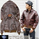 "BUZZ RICKSON'S レザーフライトジャケット Type A-2 ""Roughwear Clothing Co."" ステンシルタイプ Contract No.23380 …"