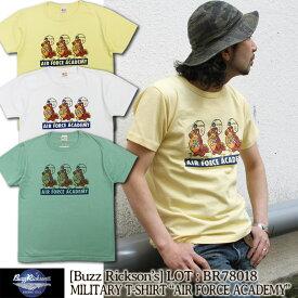 "Buzz Rickson's 半袖Tシャツ S/S T-SHIRT ""AIR FORCE ACADEMY"" [BR78018] 東洋エンタープライズ バズリクソンズ 半袖 Tシャツ プリント ショートスリーブ アメカジ ミリタリー メンズ"