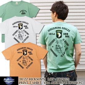 """Buzz Rickson's 半袖Tシャツ S/S T-SHIRT """"101st AIRBORNE DIVISION"""" [BR78021] 東洋エンタープライズ バズリクソンズ 半袖 Tシャツ プリント ショートスリーブ アメカジ ミリタリー メンズ"""