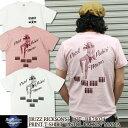 """バズリクソンズ Buzz Rickson's Tシャツ 半袖ミリタリーTシャツ [BR78024] """"PISTOL PACKN' MAMA"""" メンズ"""
