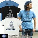 """バズリクソンズ Buzz Rickson's PEANUTS [BR78126] 正規ライセンスTシャツ スヌーピー """"SNOOPY"""" バズリクソンズ×ピーナッツ 東洋エン…"""