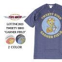 トイズマッコイ Tシャツ TMC2023 TOYS McCOY MILITARY TEE SHIRT WARNER BROS. TWEETY BIRD GARNER FIELD 半袖 カットソー プリント ア…