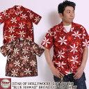 "STAR OF HOLLYWOOD 半袖オープンカラーシャツ ""BLUE HAWAII"" BROAD COTTON S/S OPEN SHIRT SH38118 スターオブハリウッド 東洋エンター…"