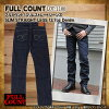 Full count FULL COUNT jeans slim straight jeans STRAIGHT LEGS Zimbabwe cotton 13.7oz. Men's [1108]@