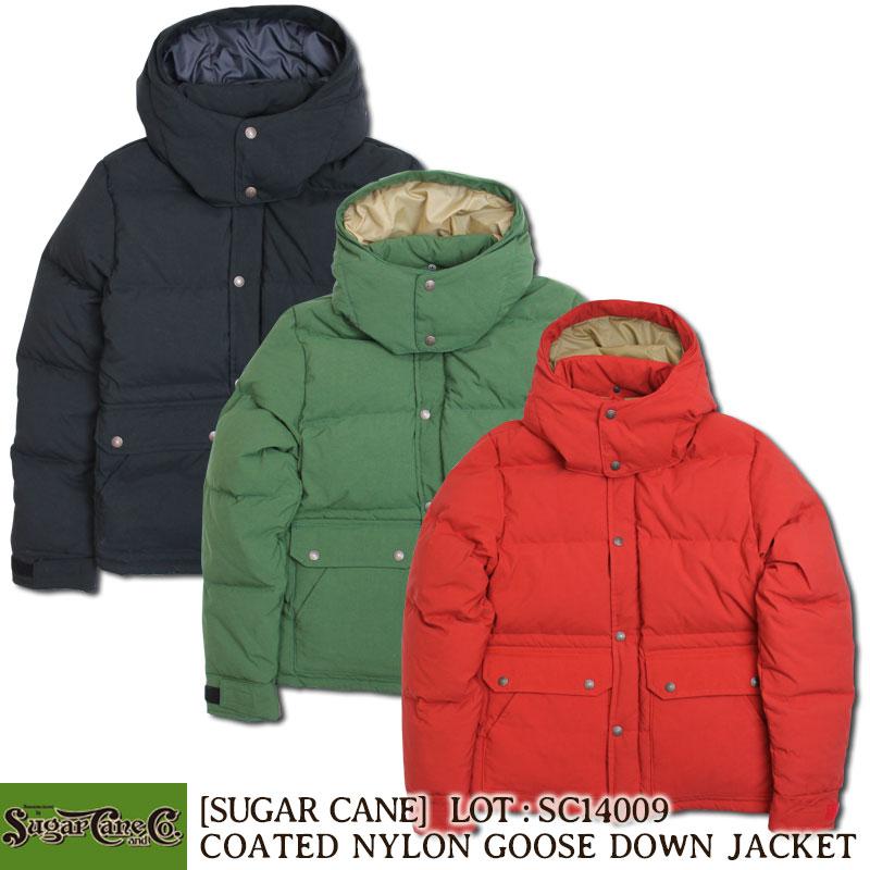 SUGAR CANE コーテッドナイロン・グースダウンジャケット [SC14009] 東洋エンタープライズ シュガーケーン アウター 防寒 アメカジ メンズ