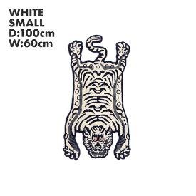 ポイント最大35倍 Tibetan Tiger Rug チベタンタイガーラグ ホワイト Sサイズ