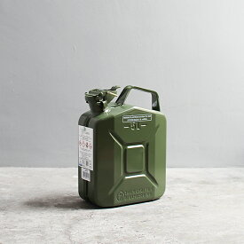 【ポイント最大34倍】Hunersdorff / Metal Fuel Can Classic 5L ヒューナースドルフ ガソリン携行缶